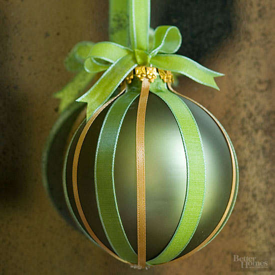 Ribboned Ornament,