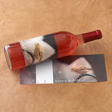 Holidays and Nature Wine Label