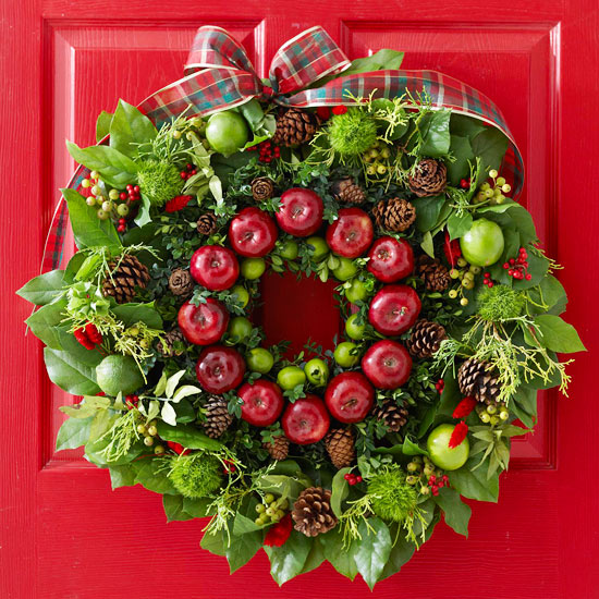 Fruit and Foliage Wreath