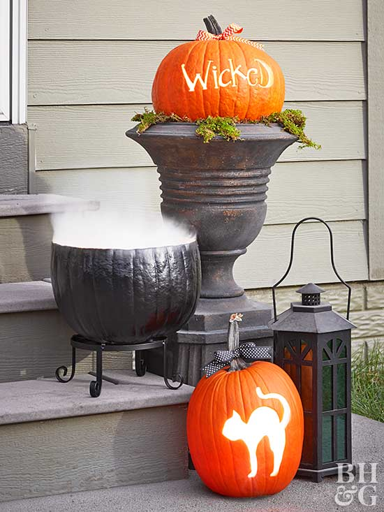 Cauldron Pumpkin