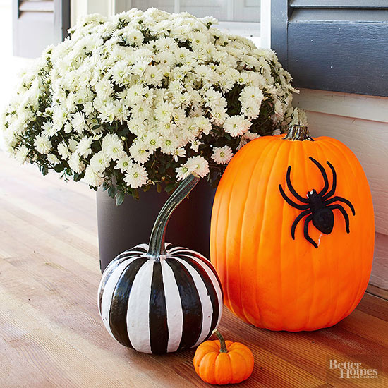 Creepy-Crawly Pumpkins
