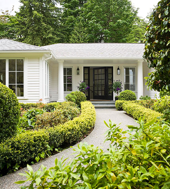 Ranch-Style Home Ideas on ranch house curb appeal landscaping, ranch landscaping ideas, ranch house landscaping designs,