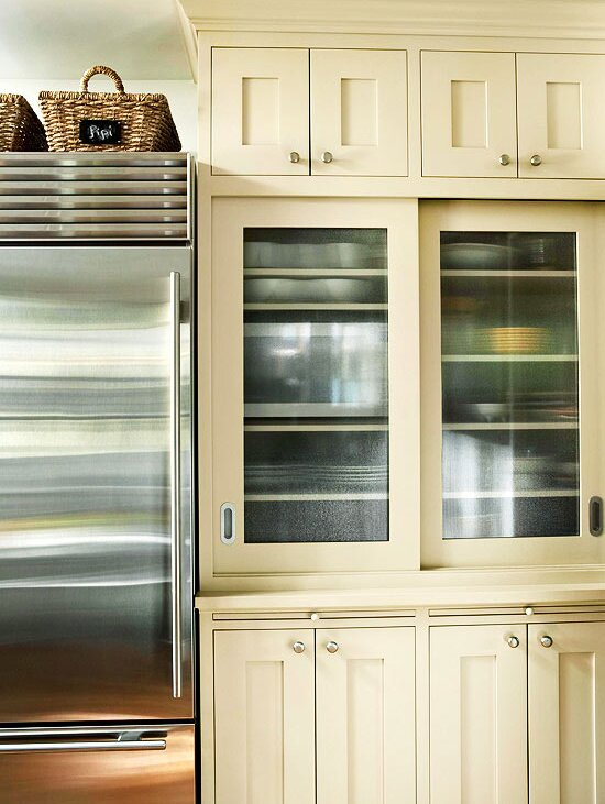 Glass Front Cabinetry