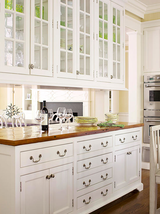 Dresser-Style Cabinets