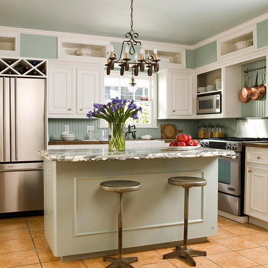 Showcase the Island Countertop