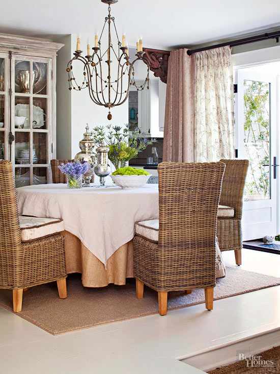 Window Treatments For Tricky Doors Better Homes Gardens