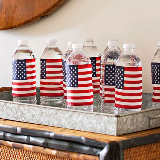 Flag Water bottles