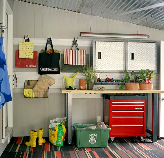 Ideas for Garage Organization