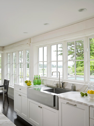 Window Lined Kitchens Better Homes Gardens