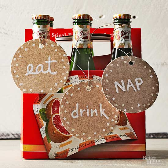 Decorated Six-Pack