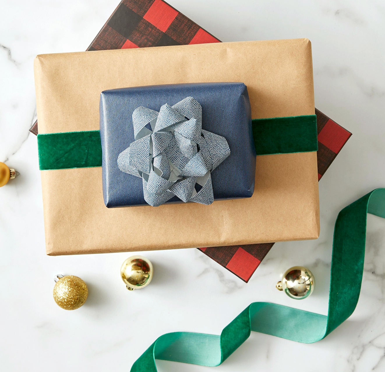 modern masculine holiday gifts and ornaments