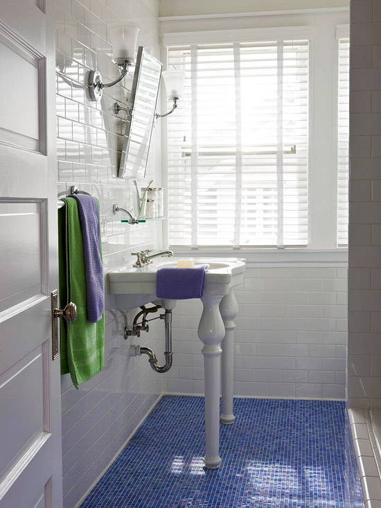 Blue Bathroom Design Ideas Better