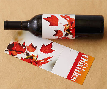 Colors of Autumn Wine Label