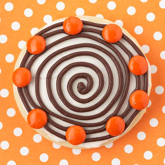 Hypnotic Halloween Cookie