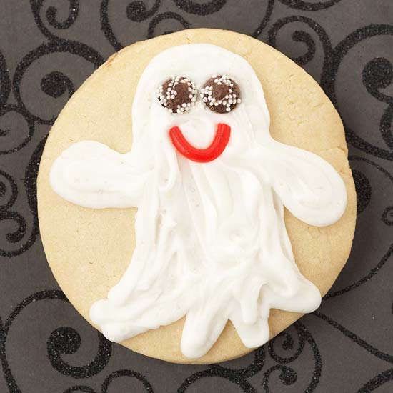 Ghost Halloween Cookie