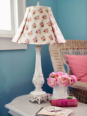 Restyled Store-Bought Lampshade