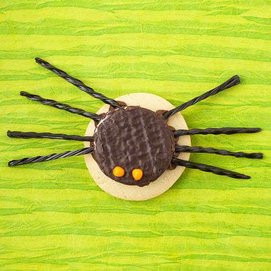 Large Spider Cookie