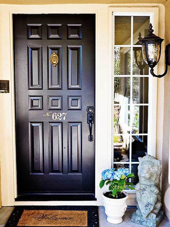 After: Three Steps to a Stylish Door