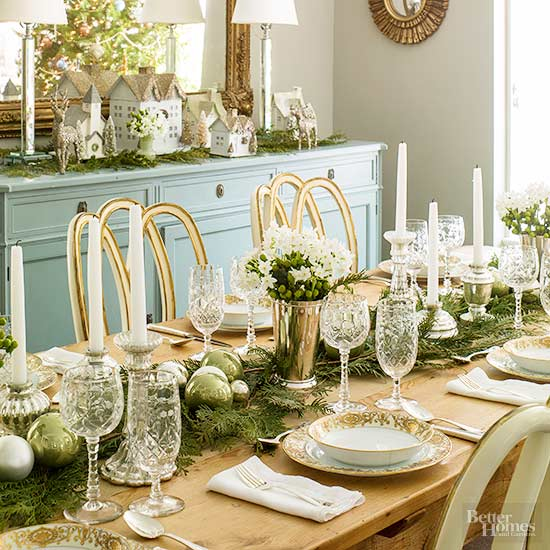 woodland theme decor ideas get the look at home.htm easy to make christmas centerpieces better homes   gardens  easy to make christmas centerpieces