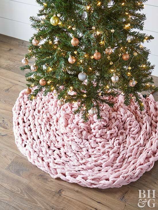18 Gorgeous Diy Christmas Tree Skirt Ideas