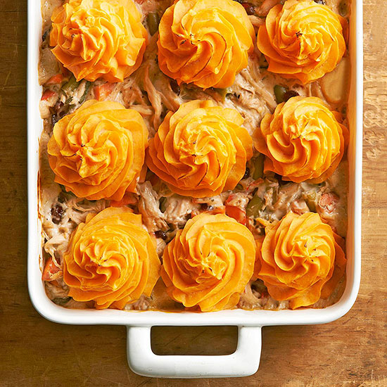 Turkey Dinner Shepherd's Pie