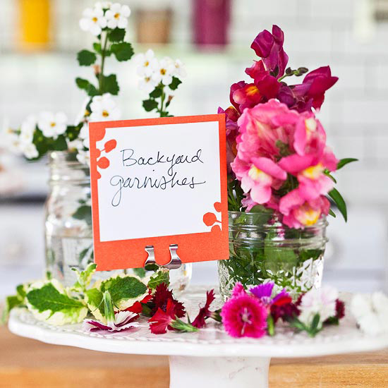 Edible Flowers for Table