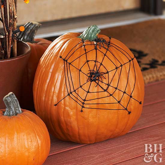 Tangled Web Pumpkin