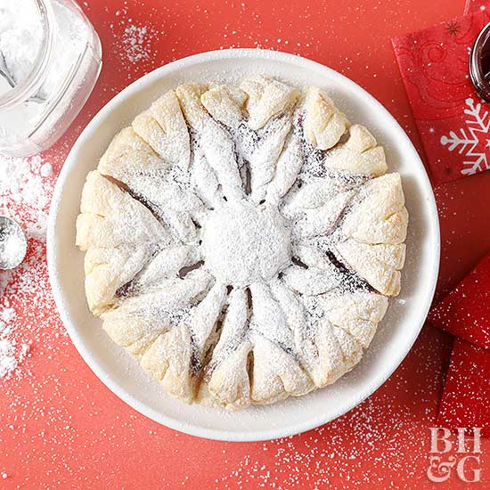 Snowflake Puff Pastry