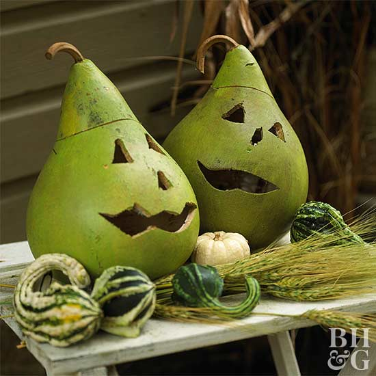 Green-Face Monster Gourd