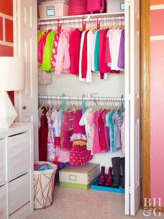 Do More with Standard Closet Storage