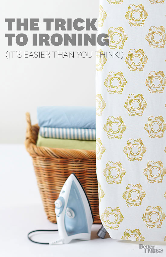 the trick to ironing (it's easier than you think)