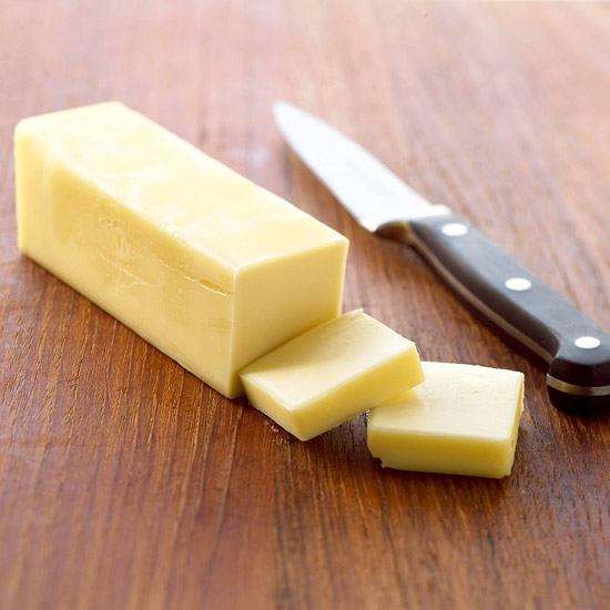 butter stick and knife