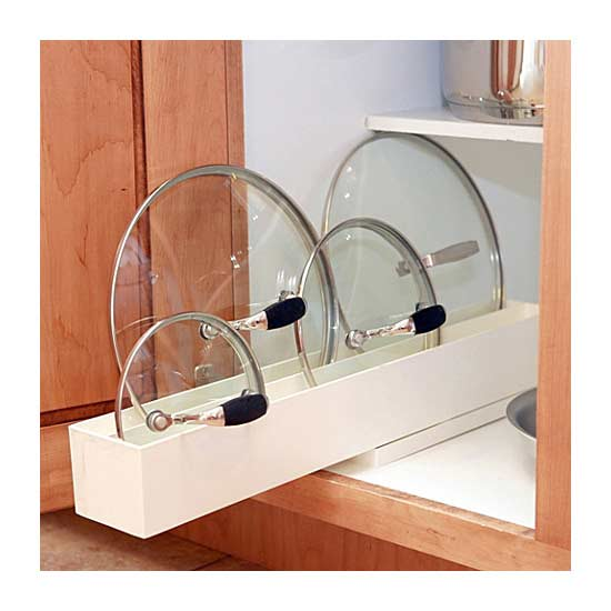small kitchen storage -Lid Maid Lid Organizer