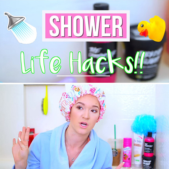 Shower Life Hacks