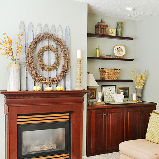 Picket Fence Mantel