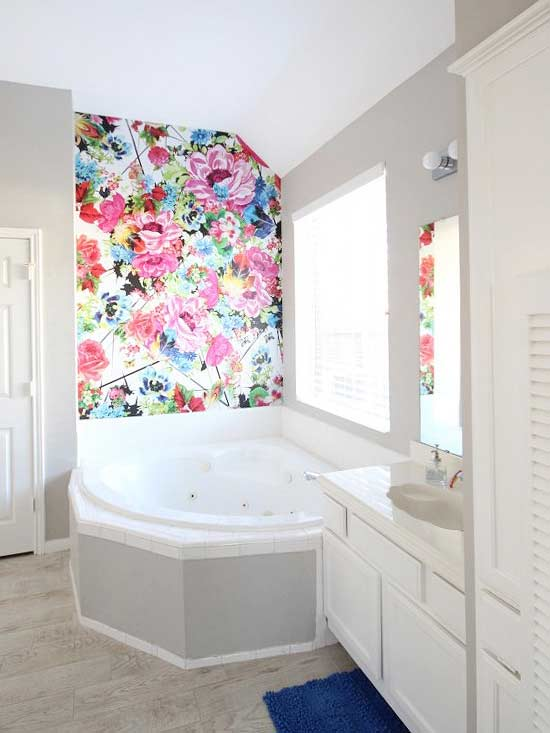 one time use only blogger image- Wallpaper Accent Walls