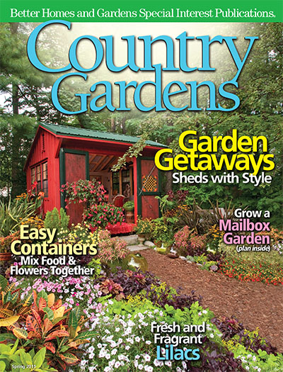 Subscribe To Country Gardens Magazine Better Homes Gardens