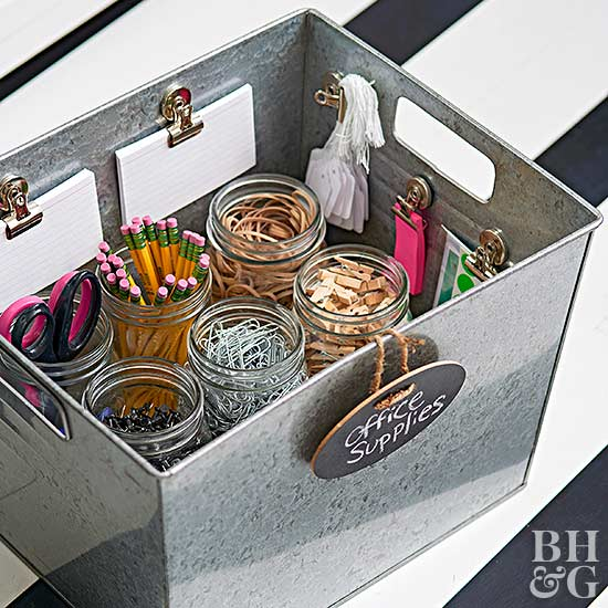 office supplies storage