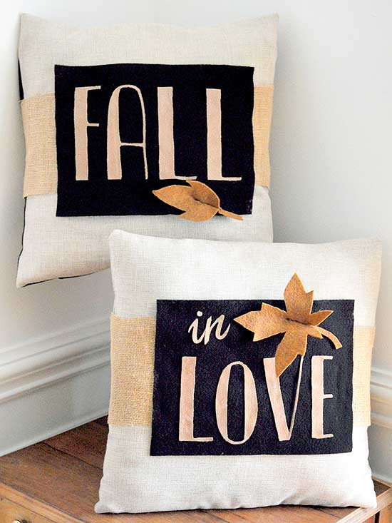fall pillows- one time use only blogger image
