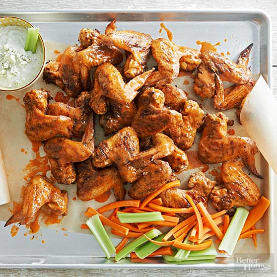 Customizable Grilled Chicken Wings
