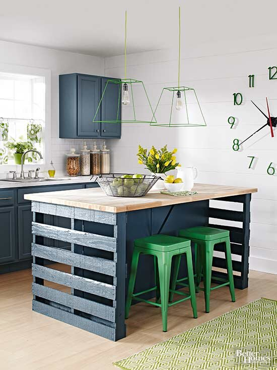 How To Build A Kitchen Island From Wood Pallets Better