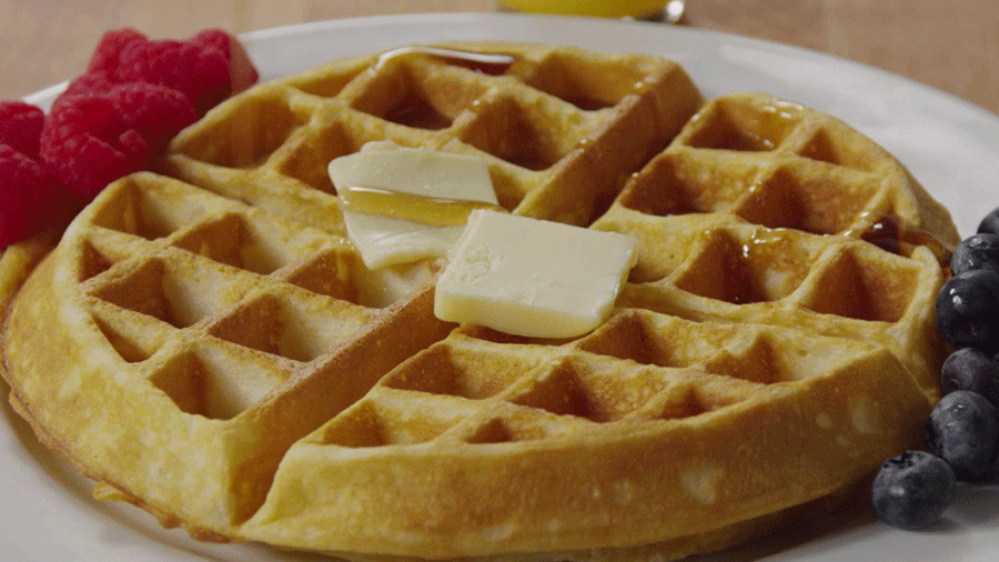 Homemade Waffles Just Like Mom Used to Make