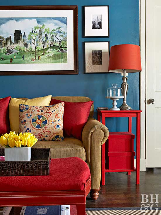 Color Combos Using Blue Better Homes
