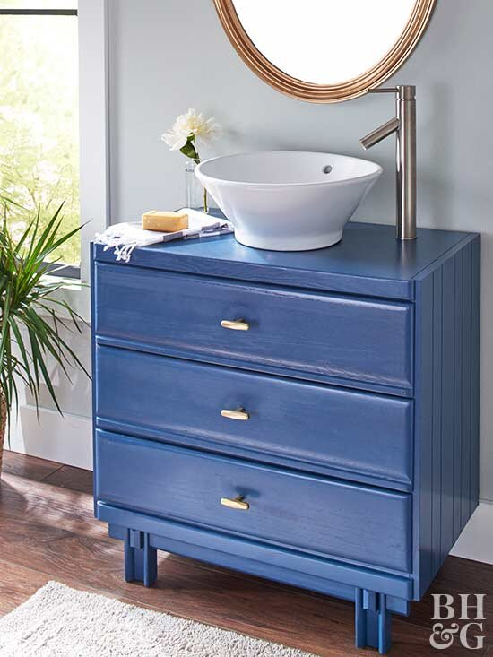 How To Turn An Old Dresser Into A Beautiful Bathroom Vanity