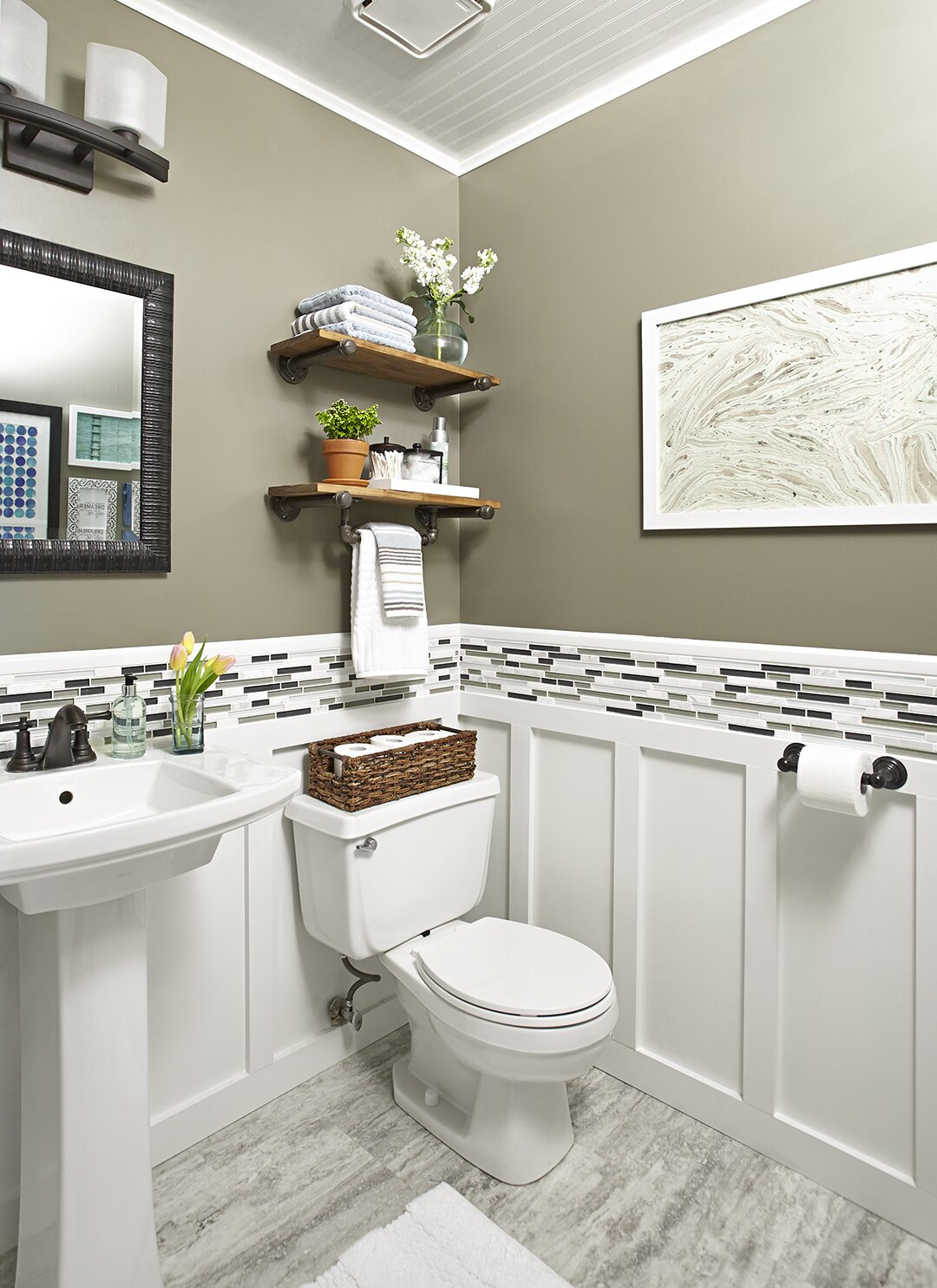 Weekend Bathroom Makeovers Better Homes Gardens