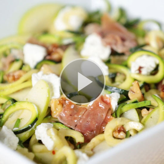 Garlicky Zucchini Noodles video