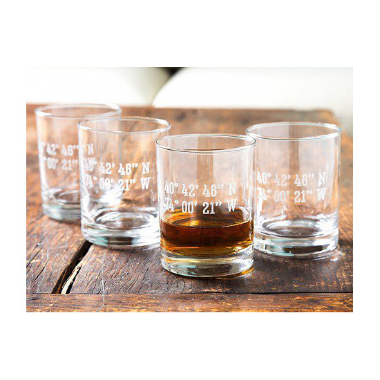 The Grommet Etched Glasses