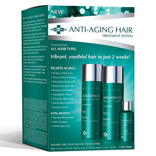 anti aging hair kit