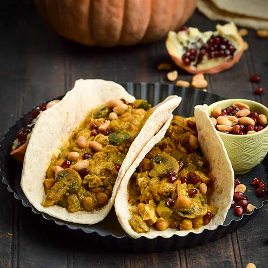 eanut-Butter-Pumpkin-Yellow-Curry-Pita-Tacos