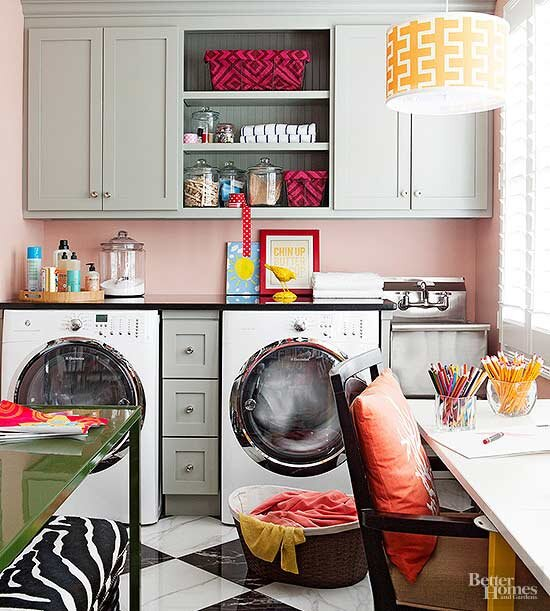 Laundry Room Storage Solutions Better Homes Gardens